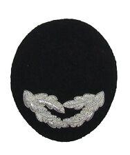 Peak 2 Rows Silver Oak leaf for Ladies Cap Hat R1888
