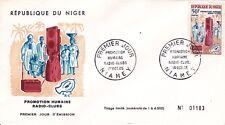 ENVELOPPE  1ER JOUR - NIGER- 1965