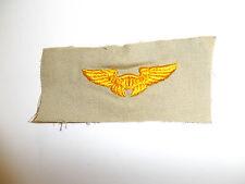 b2578 WW 2 US Army Air Corps Instructor sleeve wing light khaki C16A11