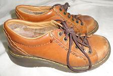 Dr Doc Martens 6-Eye Chestnut Brown Ankle Boots Womens Size US 6, UK 4, EU 37