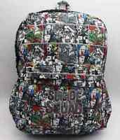 Suicide Squad Harley Quinn Joker Backpack School Laptop  Bag DC Colorful