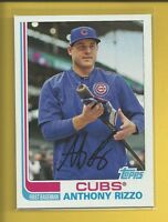 Anthony Rizzo 2017 Topps Archives Card # 161 Chicago Cubs Baseball