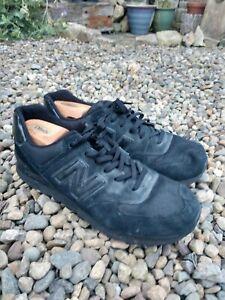 New Balance 574 - Men's 12.5 UK - Black - Casual Trainers Shoes - Encap