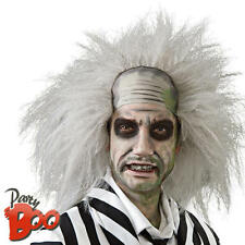 Beetlejuice Movie Wig Men's Fancy Dress Halloween Beetle Juice Costume Adult Wig