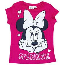 Magliette, maglie e camicie rosa Disney per bambine dai 2 ai 16 anni 100% Cotone