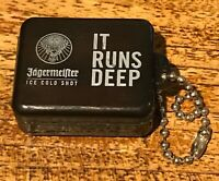 Official Jagermeister earplugs - brand new in keyring case