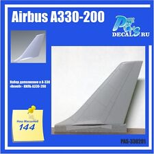 1/144 Airbus A330-200 Revell A330 Conversion Kit. Keel PAS-DECALS