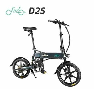 FIIDO D2S Folding Moped Electric Bike 6 Speeds Gear Shifting City Bicycle