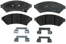 Disc Brake Pad Set-Ceramic Disc Brake Pad Front ACDelco Advantage 14D1075CH