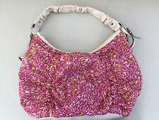 Women Elle Brand Multii Colour Carry Shoulder Tote Fabric Handbag Bag