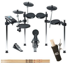 Alesis Command  Electronic Drum Kit 8 piece w/ double bass pedal, chair & sticks