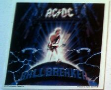 Acdc Ballbreaker 5.25&#034;x5.25&#034; Sticker Decal deadstock new old stock< 00004000 /a>