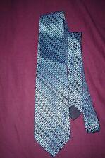 Vtg Rare WINDSOR Men's Blue Tie 100% Cotton