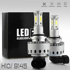 2017 All in One H10/9140/9145 100W 10000LM CREE LED Fog Lamp Kit Light Bulbs
