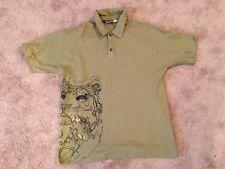 Burton Snowboards Tiger Polo LG Apparel,Streetwear,Shirt,Fleece,Mens