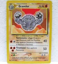 POKEMON NEO REVELATION - GRAVELER - 30/64 Italiano-MINT/NEAR MINT