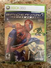 Spider-Man: Friend or Foe (Microsoft Xbox 360, 2007) Complete