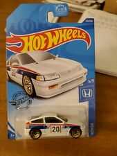 2020 Hot Wheels White 88 Honda CR-x