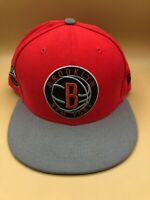 New Era NBA Brooklyn Nets Fitted Hat Cap 7 1/2 Fit All Star Eastern Conference