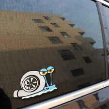 Turbo Snail Funny Car Sticker Styling Bumper Window Trunk Decal Decor Accessory