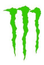 Logotipo de monstruo para paredes de coches VW t4 t5 Divertido Pegatina Gráfico VINILO COCHE DECAL pequeño
