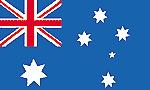 BANDIERA GRANDE FLAG FLAGS AUSTRALIA CM.100 X 140