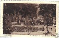 07 - cpa - VALS LES BAINS - Les jardins et la source intermittente