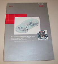 Audi A6 C5 Pneumatische Federsysteme - Niveauregelung - SSP 242 - Stand 2000!
