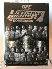 UFC The Ultimate Fighter 4 (DVD, 2007): The Comeback - BRAND NEW SEALED