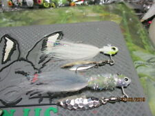 AA(4)CUSTOM 1/8TH OZ. BASS/WALLEYE/CRAPPIE UNDER SPIN FOX/FLASH JIGS