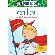 Caillou Caillou's World of Wonder 0841887052023 With Dallas Jokic DVD Region 1
