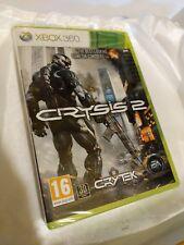 Crysis 2 Xbox 360 New Sealed UK PAL Microsoft X360 CRISIS Cry ORIGNAL RELEASE