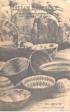 Vintage - Indian Basketry of the West by Joel Bernstein & Glenda Bradshaw 1976