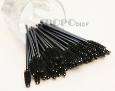 25/50/100/500/1000pc Disposable Mascara Wands Eyelash Brush Applicator Extension