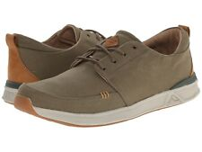 New Reef Mens ROVER LOW TX Military Green lace-up Shoes Size 9 US