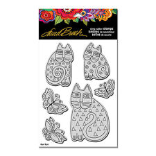 LAUREL BURCH CATS Cling Unmounted Rubber Stamp Set STAMPENDOUS LBCRS02 New
