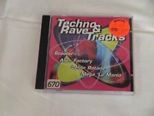 Techno & Rave Tracks (1996) Ultra Sonic, Gian Piero, Scooter, Alien Facto.. [CD]