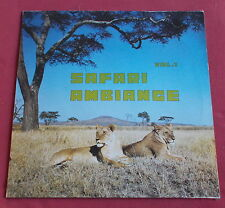 SAFARI AMBIANCE LP VOLUME 1   MANIATAKIS   AFRO