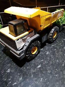 VINTAGE TONKA TOY Mighty Dump Truck Metal Yellow Dumper Tipper 2009