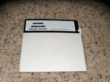 """ID Mouse Mouse Driver Apple Program 5.25"""" floppy disk Mint Condition"""