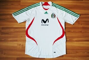 MEXICO 2006-2007 ORIGINAL FOOTBALL SOCCER HOME JERSEY SHIRT ADIDAS SIZE MEDIUM