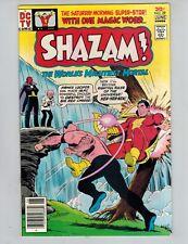 SHAZAM! 29 Captain Marvel vs Sivana , IBAC, Prince Lucifer 1977  VF