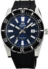 Orient FAC09004D Men's Nami Blue Dial Rubber Band 200M Automatic Diver Watch