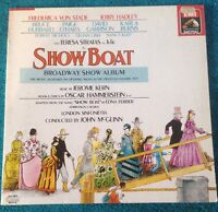 SHOWBOAT Broadway Show Album - 1988 Vinyl LP - EMI EL7498471