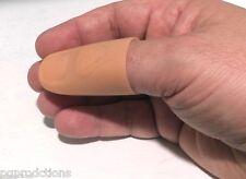 LARGE THUMB TIP SOFT PLASTIC Magic Trick Fake Finger Vanishing Match Fire Silk