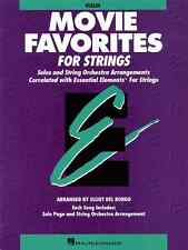 """""""ESSENTIAL ELEMENTS-MOVIE FAVORITES FOR STRINGS""""-VIOLIN-MUSIC BOOK NEW ON SALE!!"""