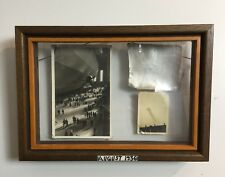 Incredible 1936 Hindenburg Zeppelin Original Piece Provenance ESTATE FRESH