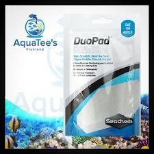 1 Pack Seachem Duo Pad *BEST* Aquarium Algae Cleaner for Glass Acrylic Fish Tank