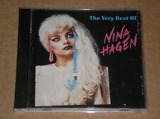 NINA HAGEN - THE VERY BEST OF - CD