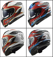 LS2 FF327 Challenger Replica Foggy Full Face Motorcycle Motorbike Touring Helmet